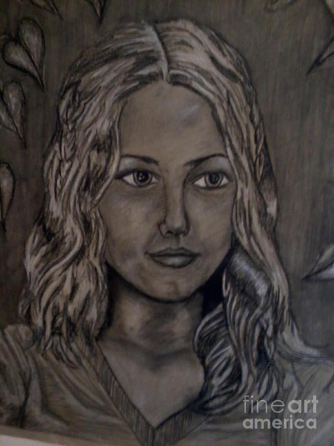 1st Self Portrait by Ronda Douglas