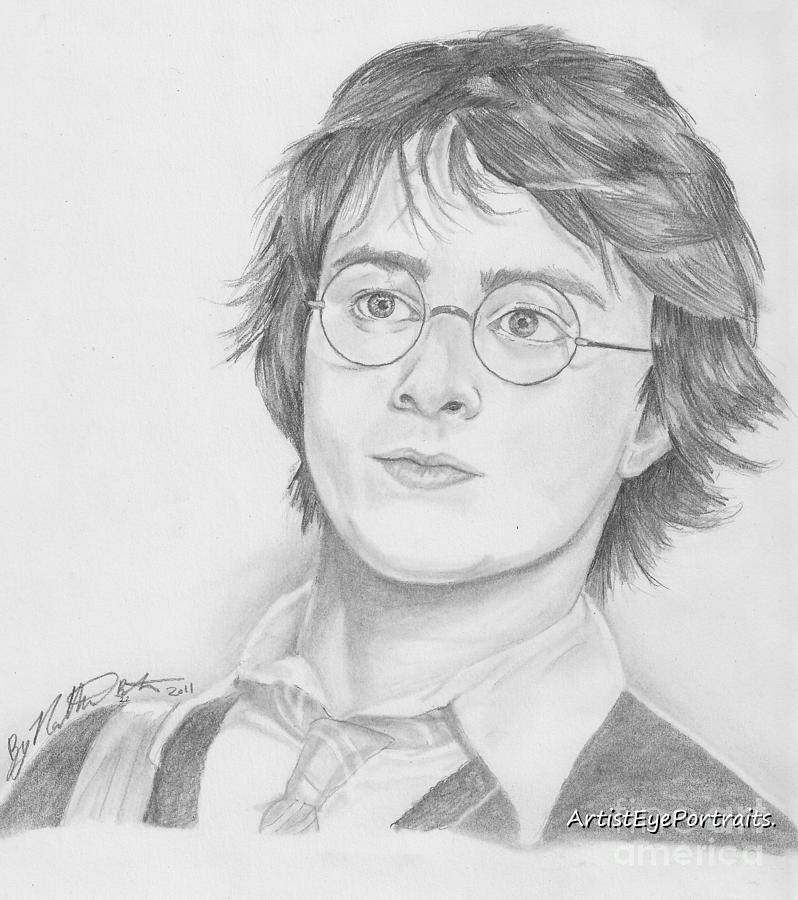 Harry Drawing -  Harry Potter by Nathaniel Bostrom