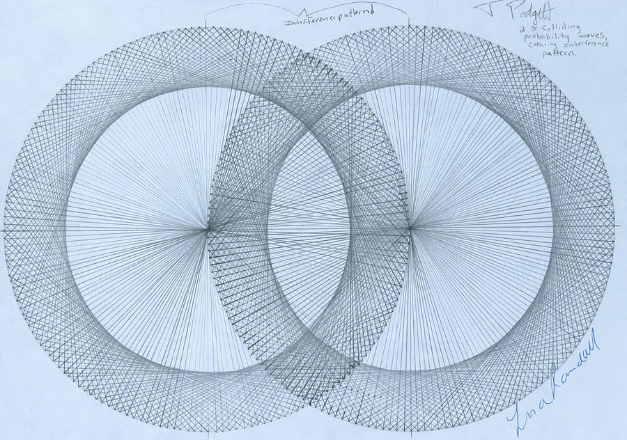 Magnet Drawing -   Magnetism 2 by Jason Padgett