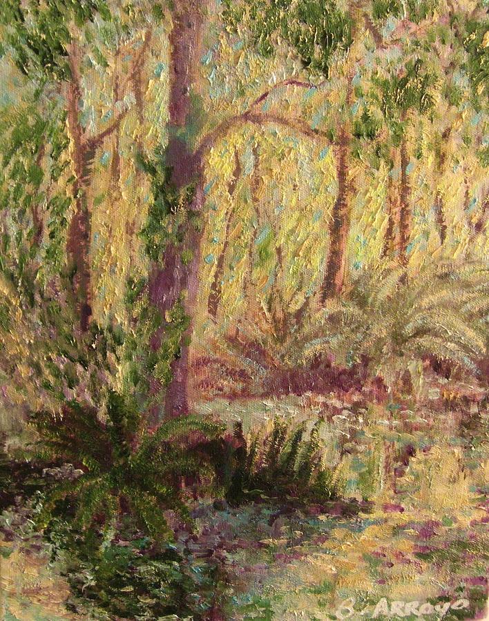 Rosemary  Creek Painting by Beth Arroyo
