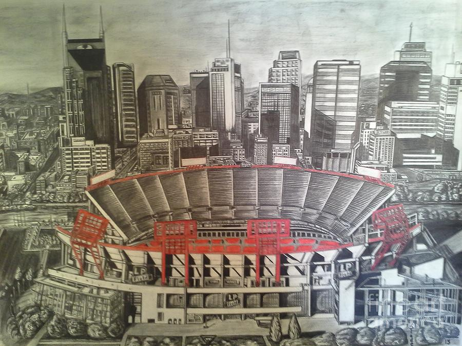 Tennessee Drawing - 10 I C by Slade Summers