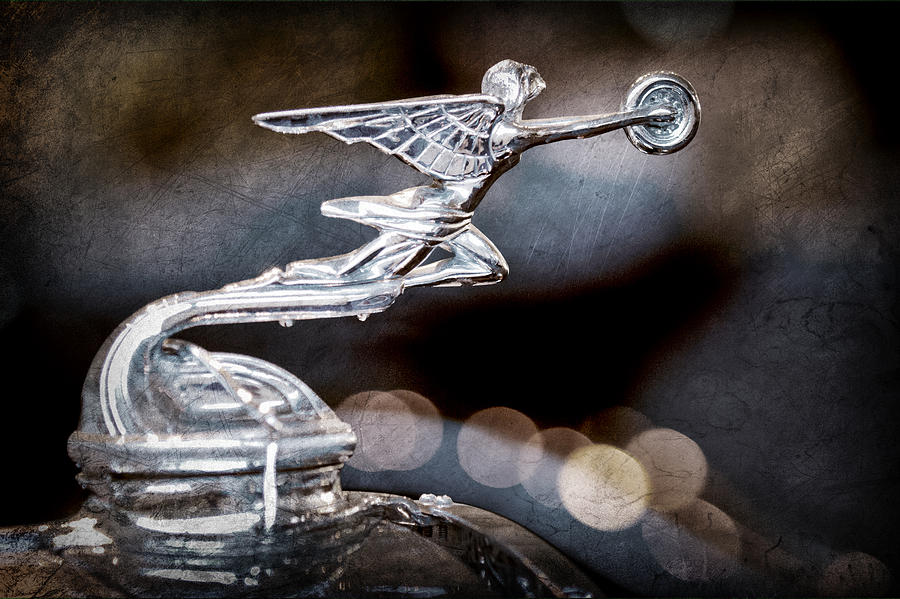 1930 Packard Model 733 Convertible Coupe Hood Ornament by Jill Reger