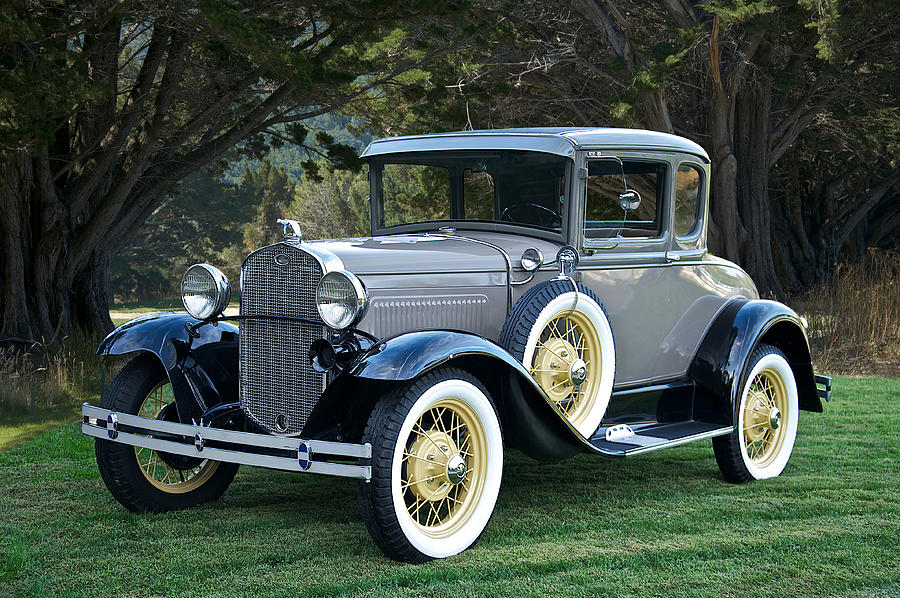 1931 Ford Model A Coupe Photograph