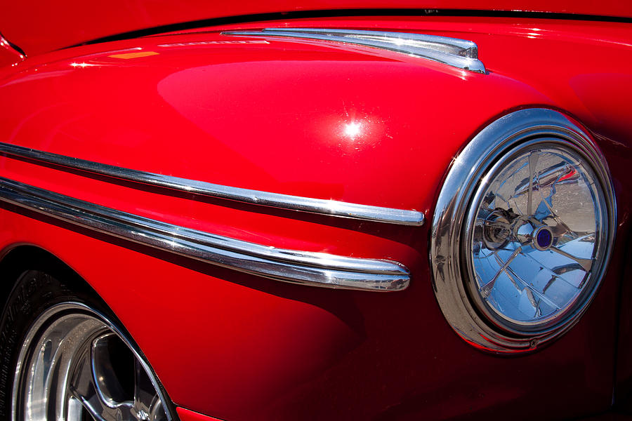 46 Photograph - 1946 Ford Mercury Eight by David Patterson