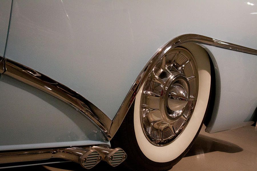 1954 Photograph - 1954 Buick Century Convertible by David Patterson