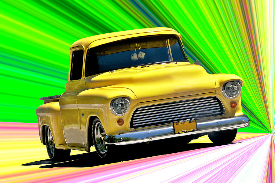 1956 Chevrolet Custom Pick Up Photograph