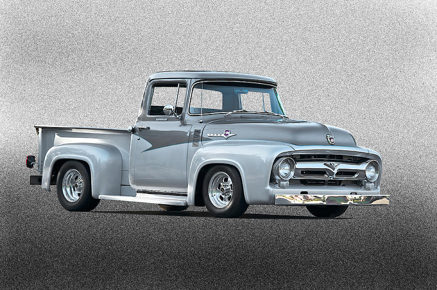 1956 Ford F100 Custom Pick Up by Dave Koontz