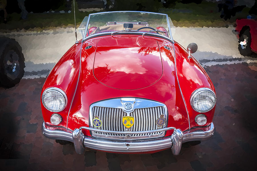 Mga Photograph - 1960 Mga 1600 Convertible by Rich Franco