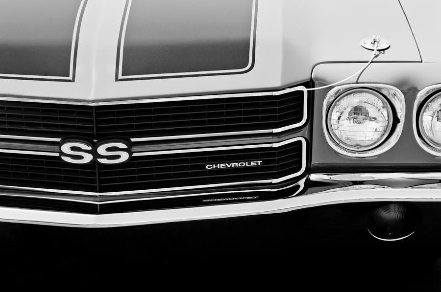 70 Chevelle El Camino SS Style Black Grille