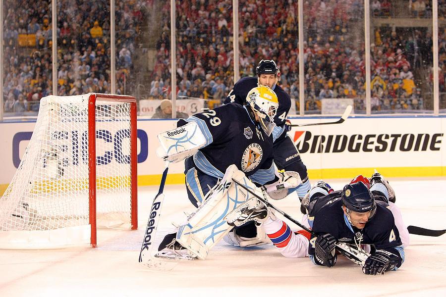 0db52d16fc0 2011 Nhl Winter Classic  Washington Capitals V Pittsburgh Penguins  Photograph by Dave Sandford