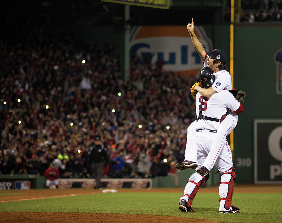2013 World Series Game 6 St. Louis Photograph by Brad Mangin