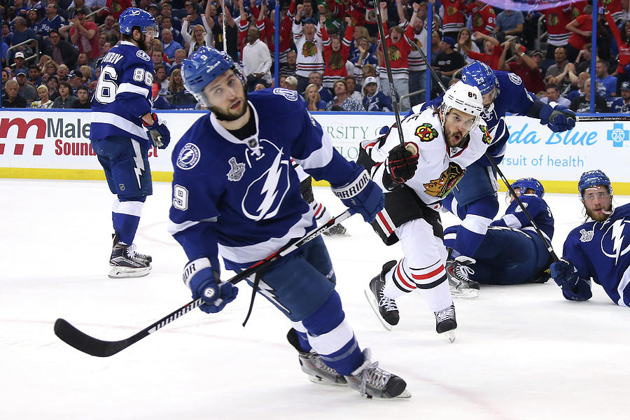 2015 Nhl Stanley Cup Final - Game One Photograph by Bruce Bennett