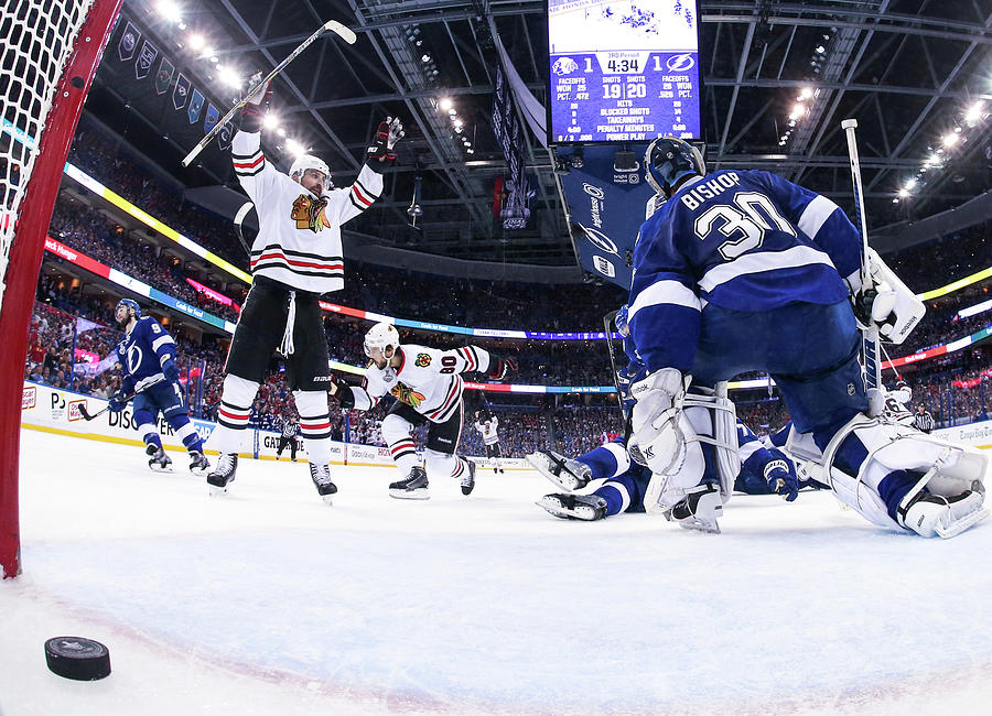2015 Nhl Stanley Cup Final - Game One Photograph by Scott Audette