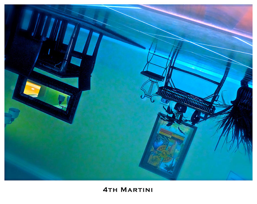 Martinis Photograph - 4th Martini by Lorenzo Laiken