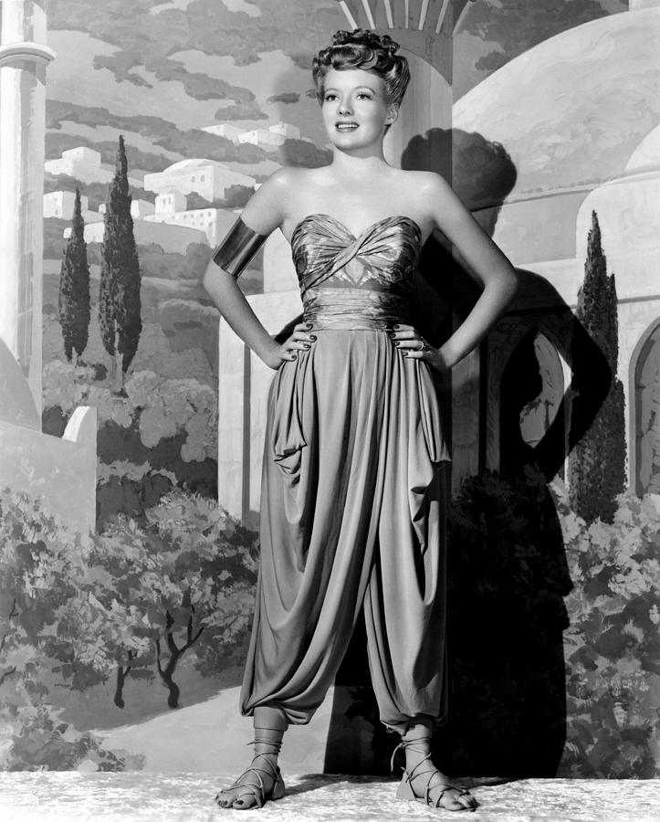 1940s Movies Photograph - A Thousand And One Nights, Evelyn by Everett