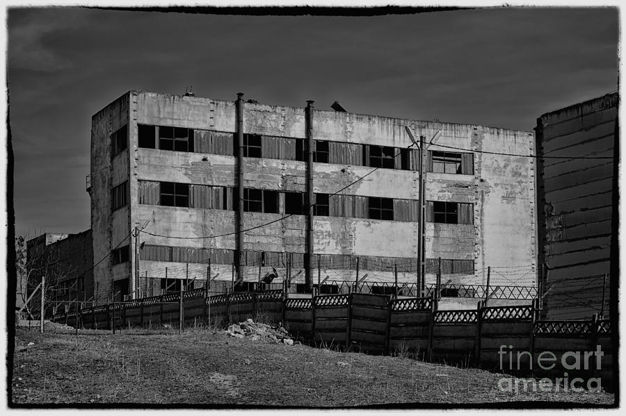Abandon Photograph - Abandoned Factory At Vadu by Gabriela Insuratelu