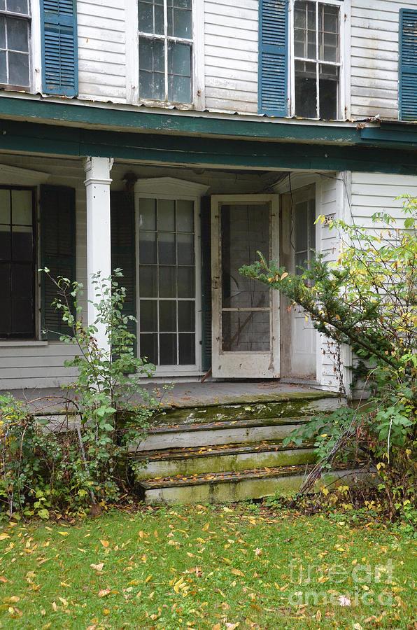 Old Photograph - Abandoned House by Jill Battaglia