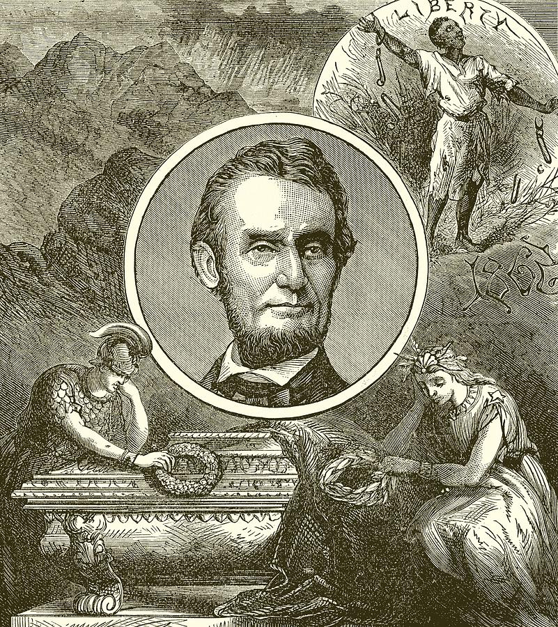 Abraham Lincoln Drawing - Abraham Lincoln by English School
