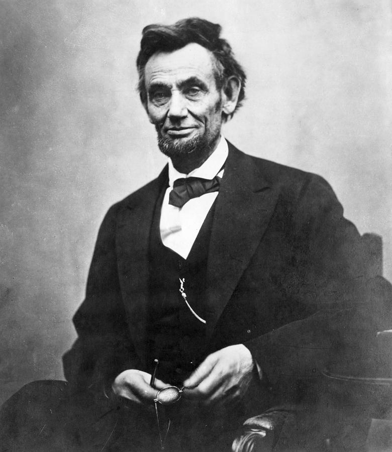 1865 Photograph - Abraham Lincoln(1809-1865) by Granger