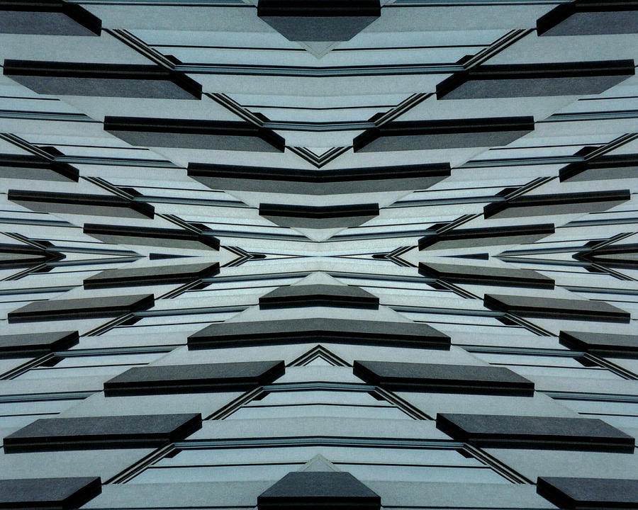 Original Photograph - Abstract Buildings 3 by J D Owen