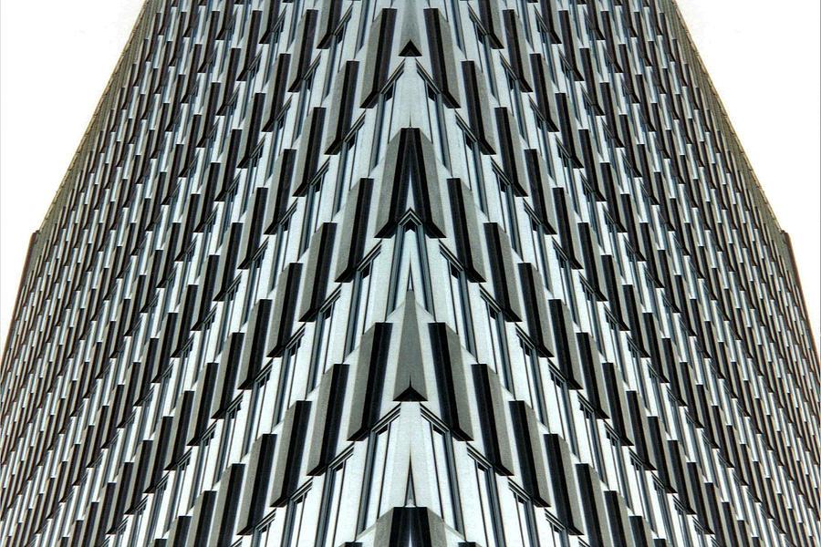 Original Photograph - Abstract Buildings 4 by J D Owen