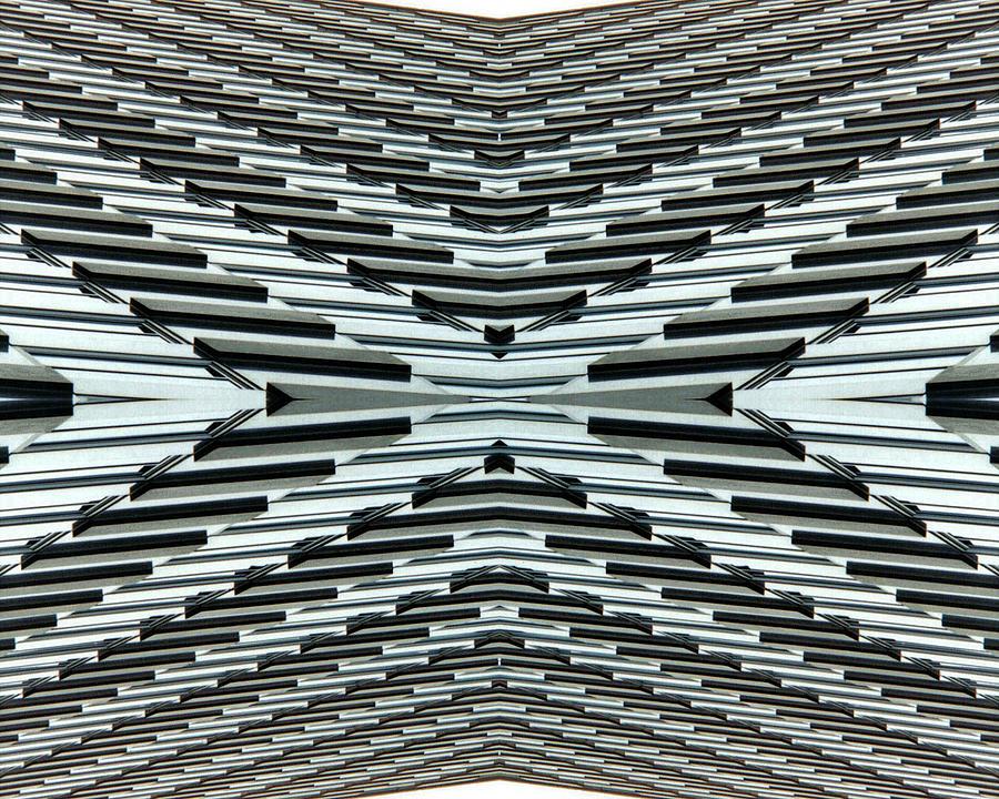 Original Photograph - Abstract Buildings 5 by J D Owen