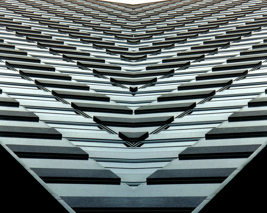 Original Photograph - Abstract Buildings 7 by J D Owen
