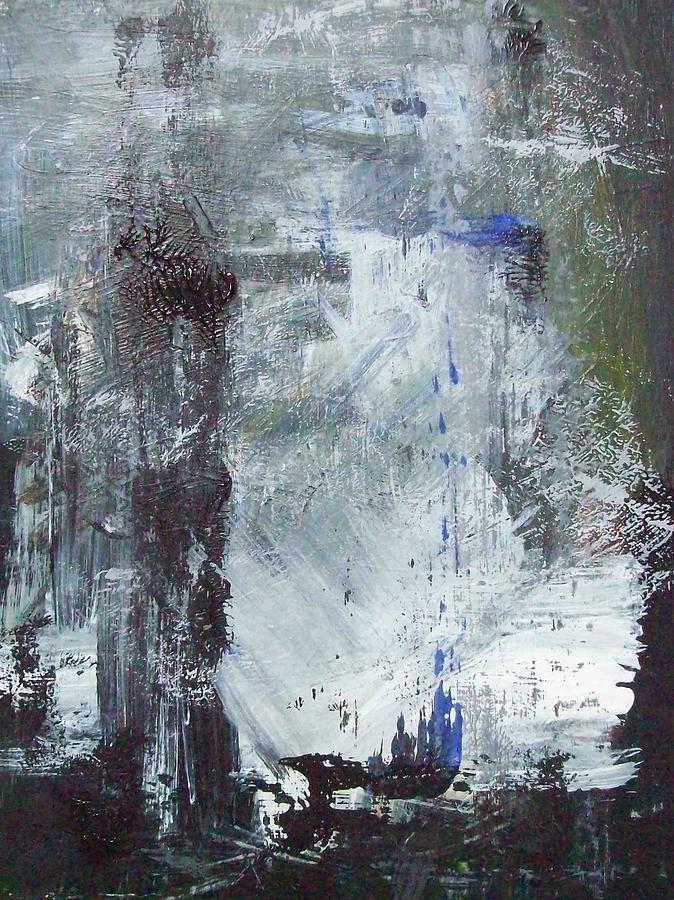 Abstract Painting - Abstract by Mary Adam