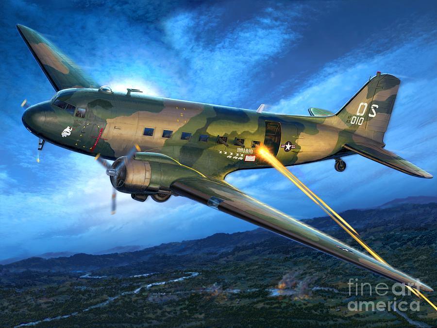 Ac-47 Digital Art - Ac-47 Spooky by Stu Shepherd
