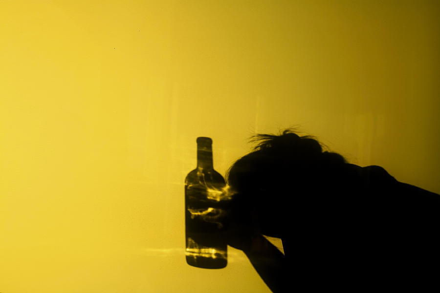 Alcoholism 2 Photograph by Instants