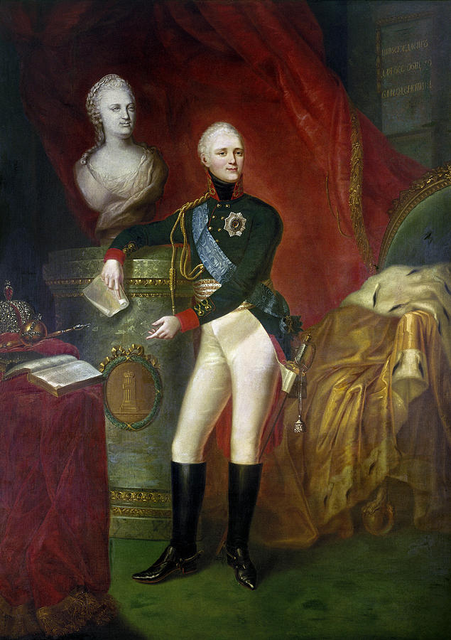 19th Century Painting - Alexander I (1777-1825) by Granger
