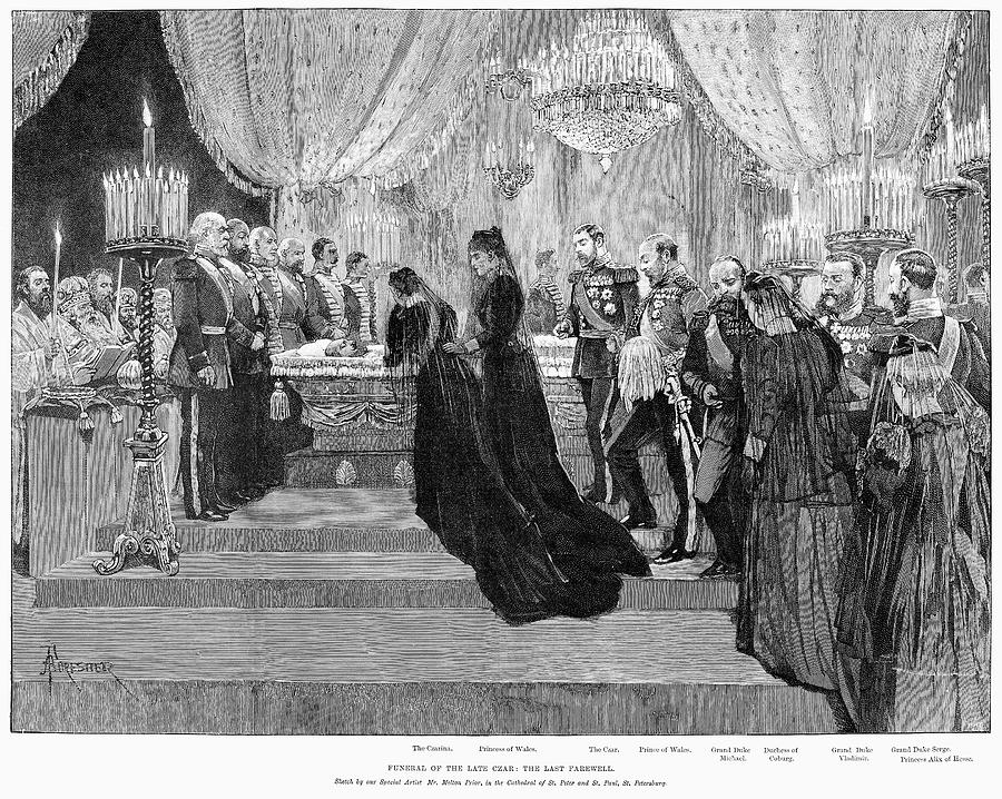 1894 Painting - Alexander IIi (1845-1894) by Granger