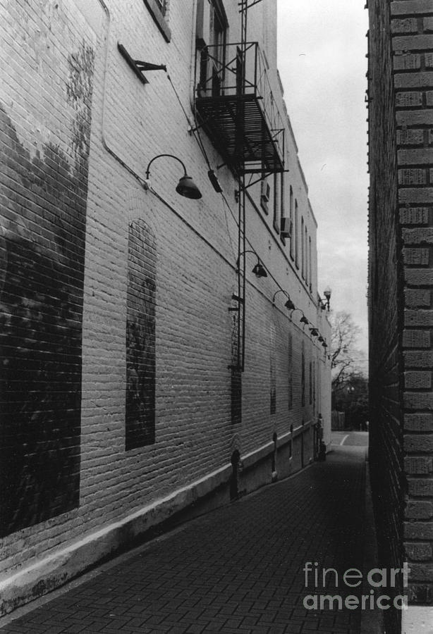 Alley Photograph - Alley by Michelle OConnor