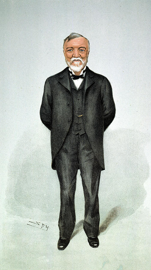 1903 Painting - Andrew Carnegie (1835-1919) by Granger
