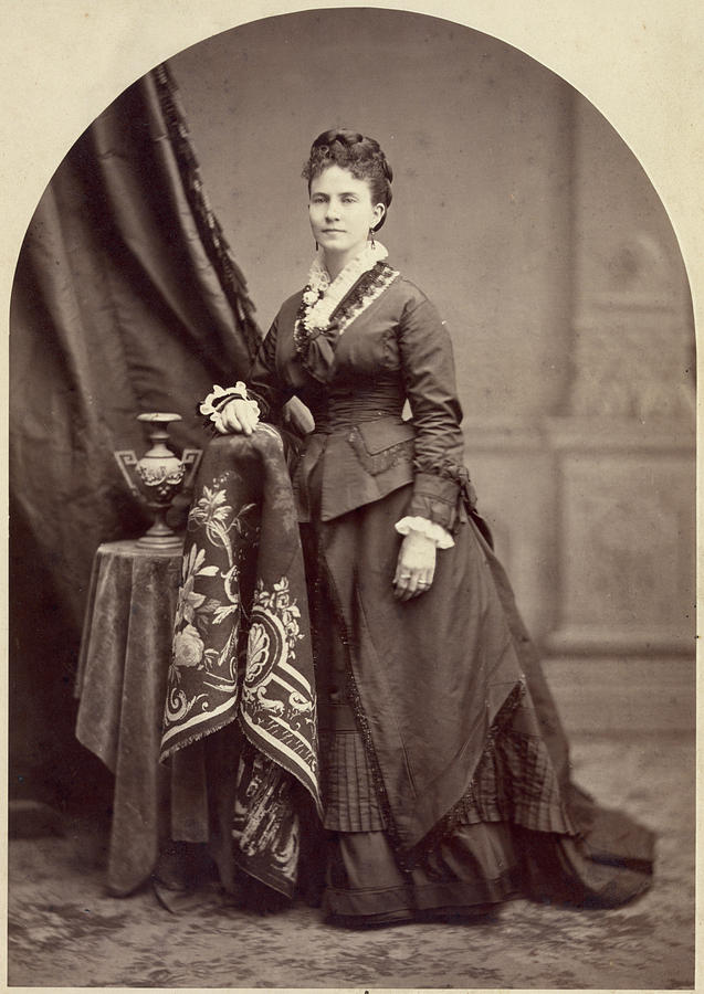1875 Photograph - Ann Eliza Young (1844-1925) by Granger