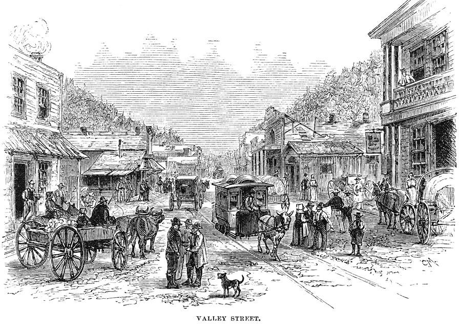1878 Painting - Arkansas Hot Springs by Granger