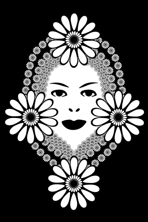Art Nouveau Drawing - Art Nouveau Woman by Frank Tschakert