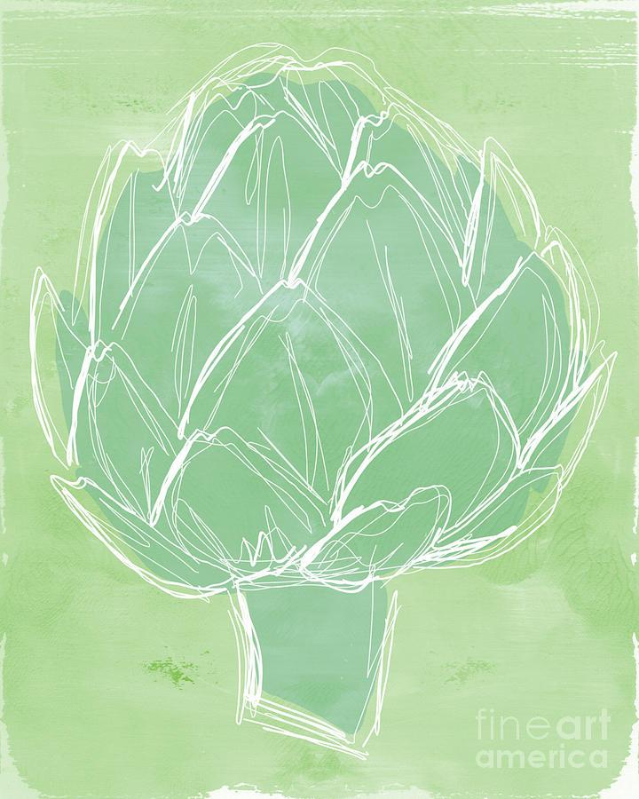 Artichoke Painting