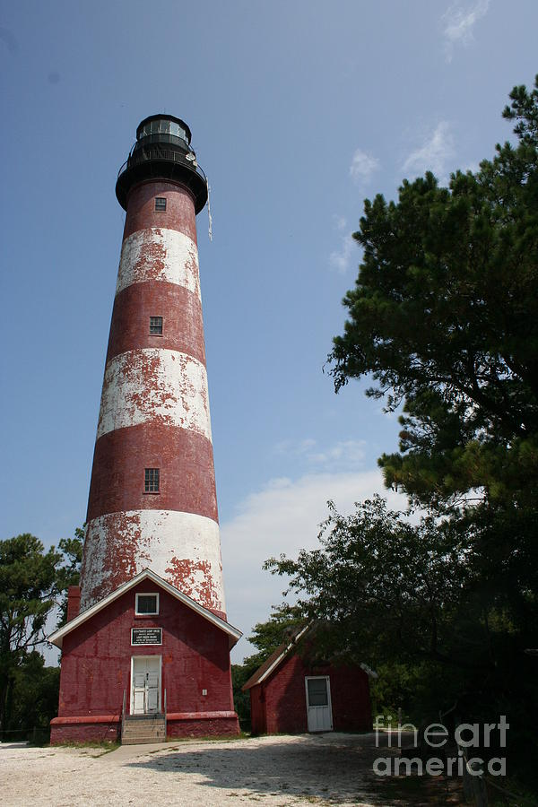 Lighthouse Photograph - Assateague Lighthouse by Christiane Schulze Art And Photography