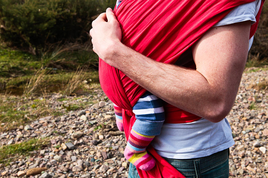 Arm Photograph - Baby Sling by Tom Gowanlock
