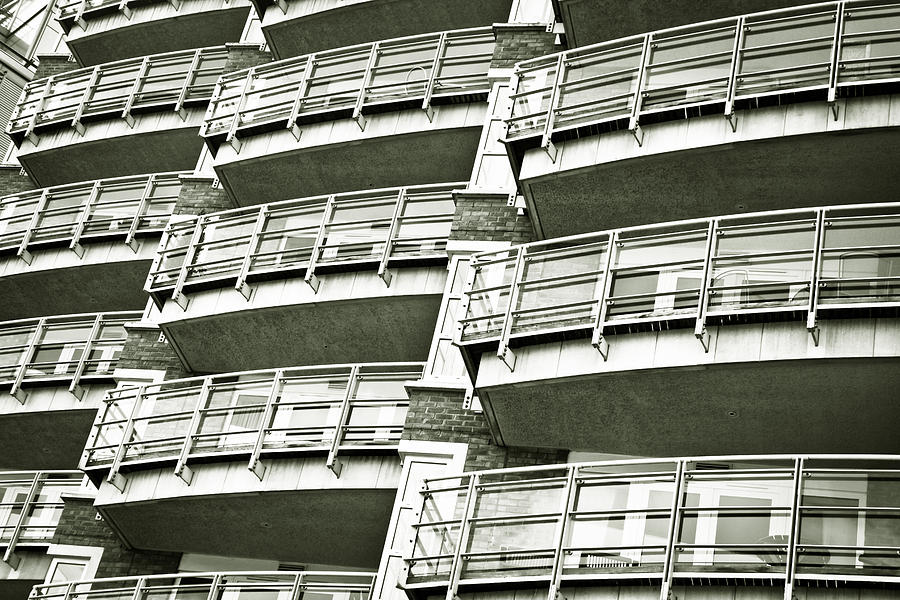 Accommodation Photograph - Balconies by Tom Gowanlock