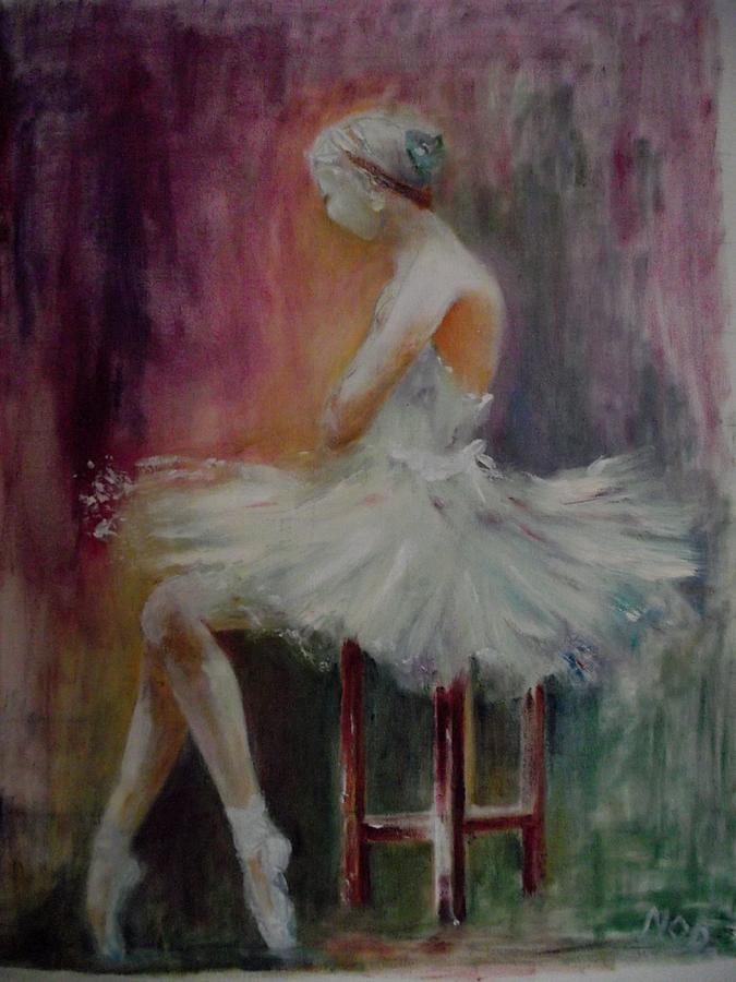 Ballet Painting - Ballet by Ken Parkes