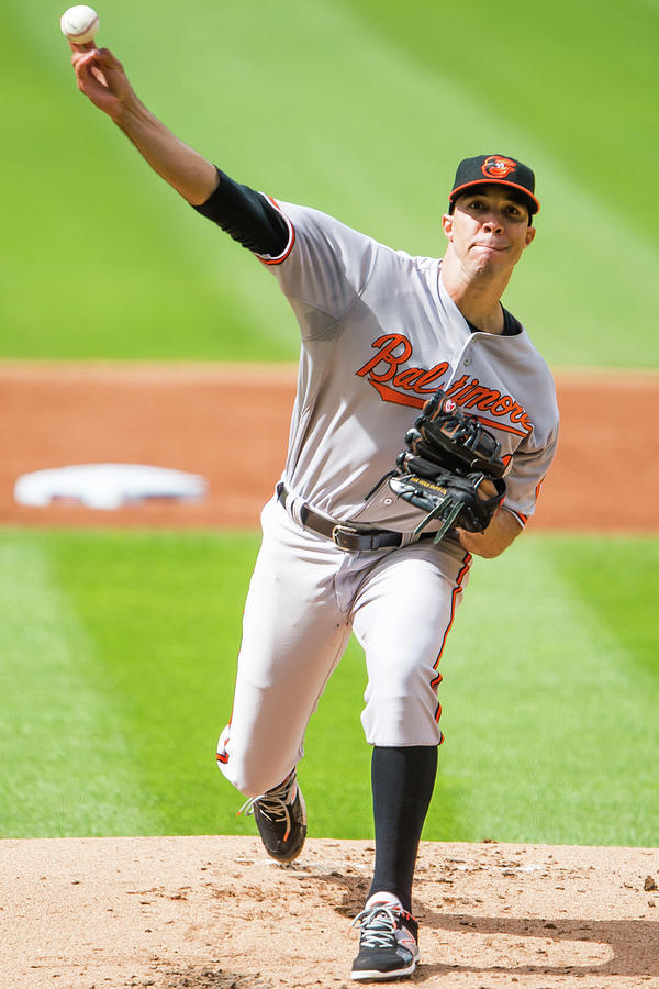 Baltimore Orioles V Cleveland Indians 2 Photograph by Jason Miller