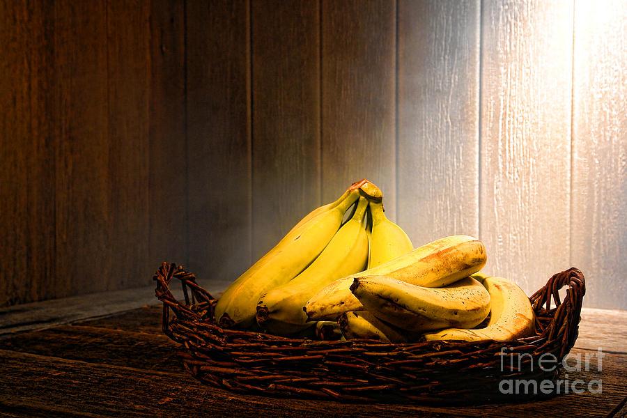 Bananas Photograph - Bananas by Olivier Le Queinec