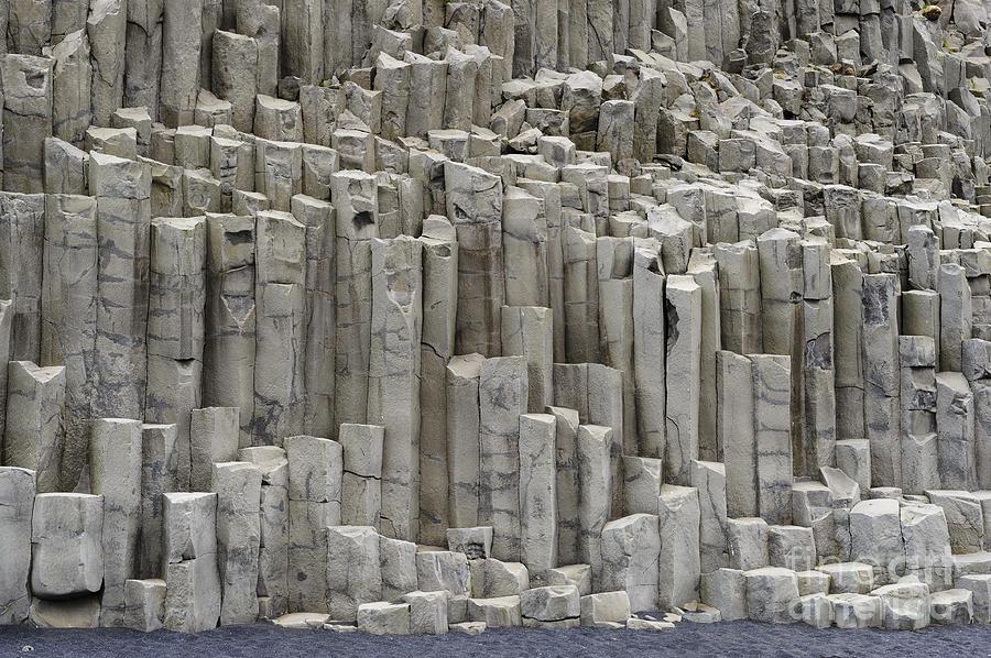 Basalt Columns Iceland : Basalt columns iceland photograph by john shaw