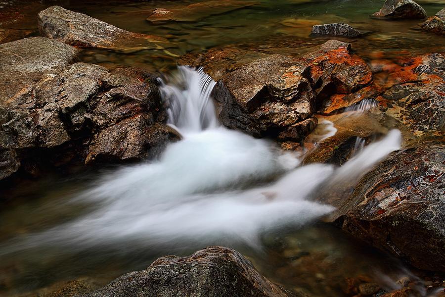 Basin Cascade by Mike Farslow