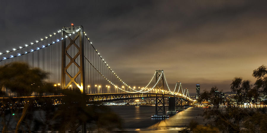America Photograph - Bay Bridge From Treasure Island by Gej Jones