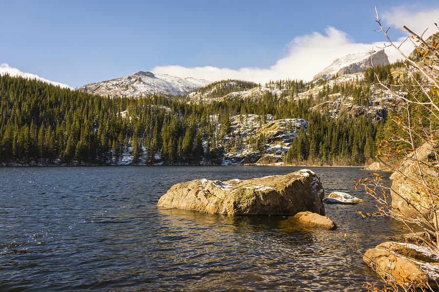Bear Lake Photograph - Bear Lake - Rocky Mountain National Park Colorado by Brian Harig