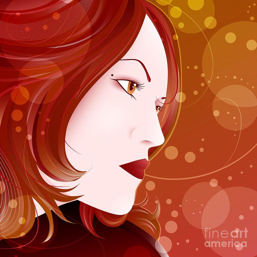 Woman Digital Art - Bella Donna II by Sandra Hoefer