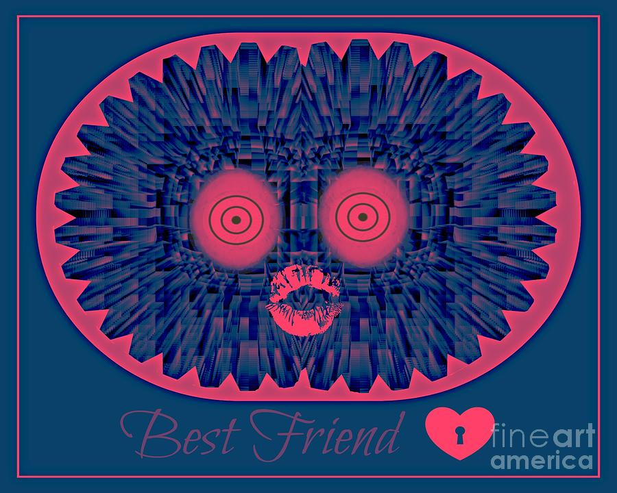 Friends Digital Art - Best Friend by Meiers Daniel